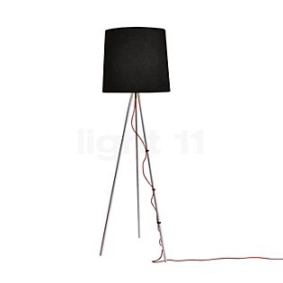 Martinelli Luce Eva Floor Lamp aluminium/white, ø50 cm