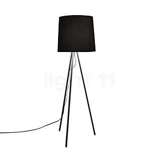 Martinelli Luce Eva Vloerlamp aluminium/wit, ø50 cm