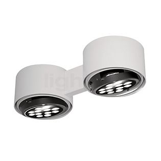 Martinelli Luce Eye Plafonnier en saillie LED blanc