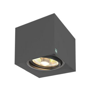Mawa 111er angular Ceiling Light HV metallic