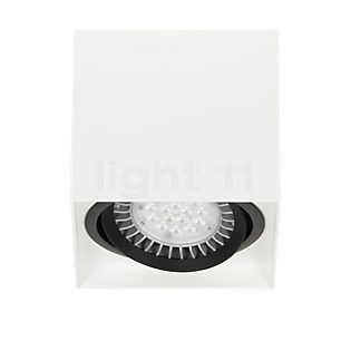 Mawa 111er angular Ceiling Light LED dimmable 24° white matt