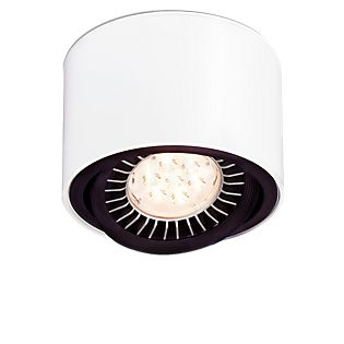 Mawa 111er, lámpara de techo circular LED, regulable 24° blanco mate