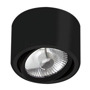 Mawa 111er, lámpara de techo redonda AT negro mate