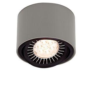 Mawa 111er rond Plafonnier LED, tamisable métallique, 24°