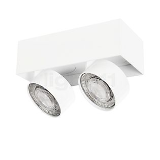 Mawa Wittenberg 4.0 Deckenleuchte halbbündig 2-flammig LED weiß matt