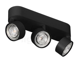 Mawa Wittenberg 4.0 Deckenleuchte oval 3-flammig LED schwarz matt