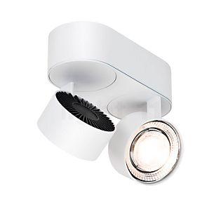 Mawa Wittenberg 4.0 Plafonnier ovale 2 foyers LED blanc