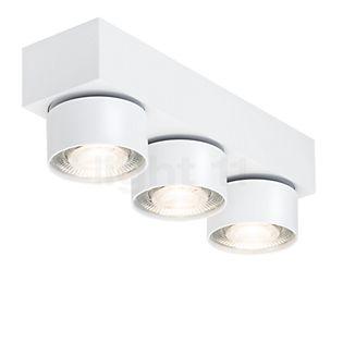 Mawa Wittenberg 4.0, lámpara de techo de 3 focos LED blanco mate