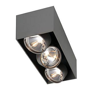 Mawa Wittenberg Ceiling Light flush 3 lamps white matt