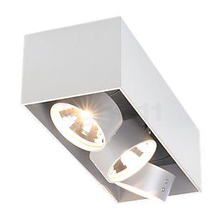 Mawa Wittenberg Lampada da soffitto con testa allineata 3 fuochi bianco opaco