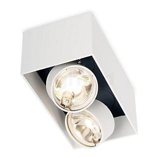 Mawa Wittenberg Loftslampe flush 2-flamme hvid mat