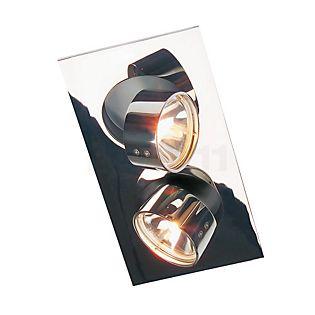 Mawa Wittenberg Plafondinbouwlamp hoekig 2-lichts chroom glanzend