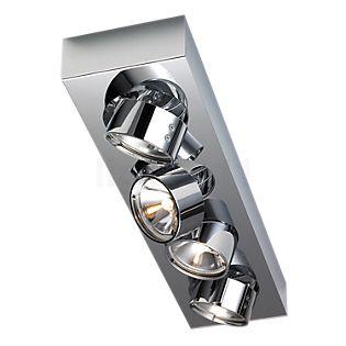 Mawa Wittenberg Plafondlamp 4-lichts chroom glanzend