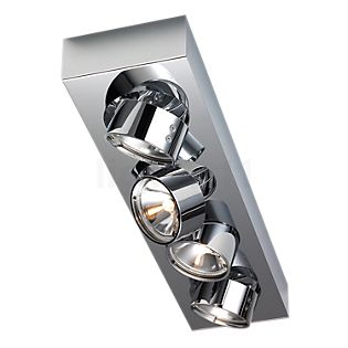 Mawa Wittenberg Plafonnier 4 foyers chrome brillant