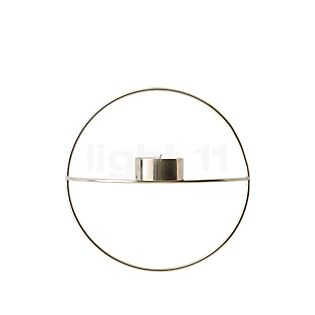 Menu POV Circle Candle Holder Tealight Small chrome , Warehouse sale, as new, original packaging