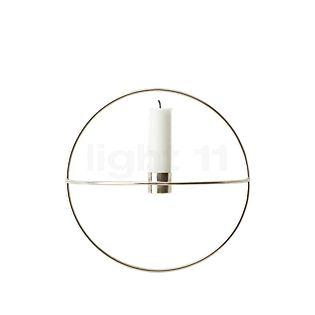 Menu POV Circle Kerzenhalter Small schwarz , Auslaufartikel