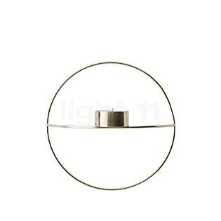 Menu POV Circle Portacandele Tealight Small cromo , articolo di fine serie