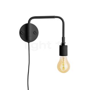 Menu Staple Lampada da parete nero