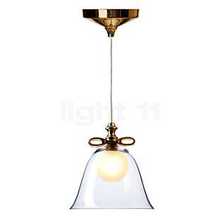 Moooi Bell Lamp white bow/shade transparent