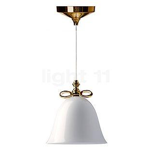 Moooi Bell Lamp fiocco dorato/paralume bianco