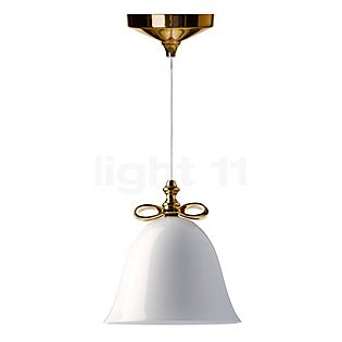 Moooi Bell Lamp gold bow/white screen