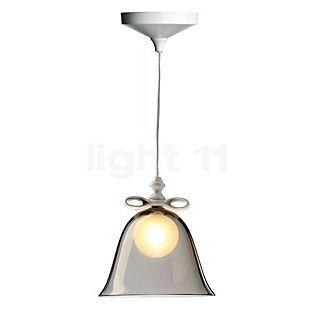 Moooi Bell Lamp hvid sløjfe/gennemsigtig skærm