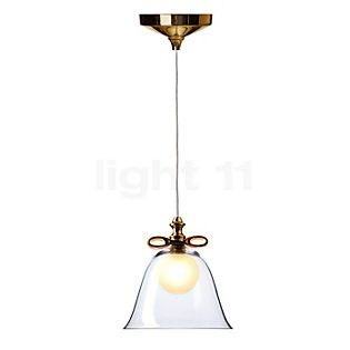 Moooi Bell Lamp small wit lint/transparant scherm