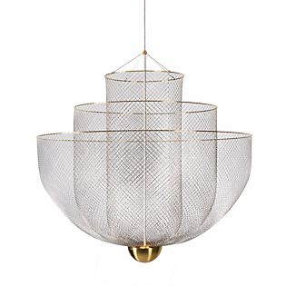 Moooi Meshmatics Chandelier LED ottone