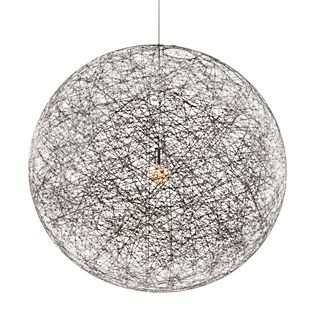 Moooi Random Light, lámpara de suspensión negro, ø105 cm
