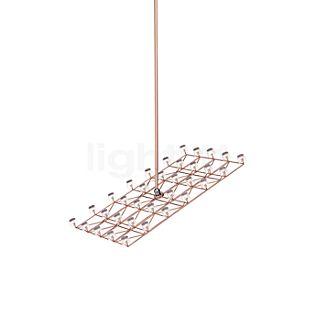 Moooi Space-Frame Pendelleuchte S LED Kupfer