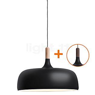 Northern Acorn Hanglamp zwart