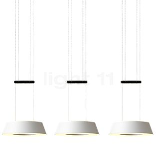 Oligo Glance Suspension LED 3 foyers noir mat