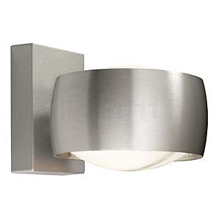 Oligo Grace, lámpara de pared aluminio cepillado