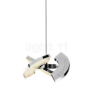 Oligo Trinity Suspension LED chrome brillant