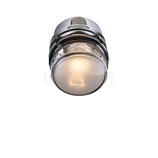 Oluce Fresnel Wandleuchte LED Chrom