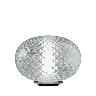 Oluce Recuerdo, lámpara de sobremesa LED transparente