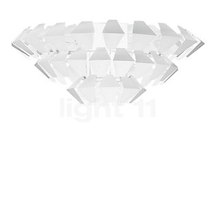 Panzeri Agave Ceiling Light white