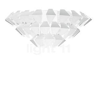 Panzeri Agave, lámpara de techo blanco