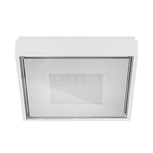 Panzeri Box Applique/Plafonnier carré LED blanc