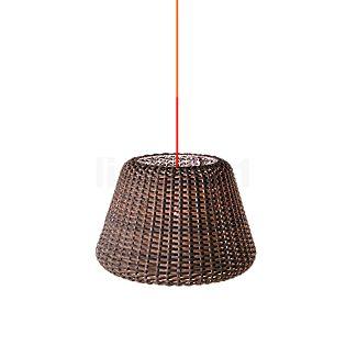 Panzeri Ralph Hanglamp bruin, ø35 cm