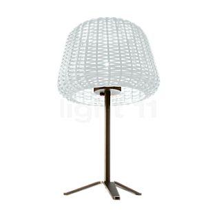 Panzeri Ralph, lámpara de sobremesa blanco