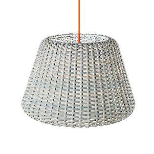 Panzeri Ralph, lámpara de suspensión blanco, ø35 cm