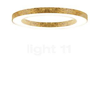 Panzeri Silver Ring Lampada da soffitto/plafoniera LED dorato, 123 cm