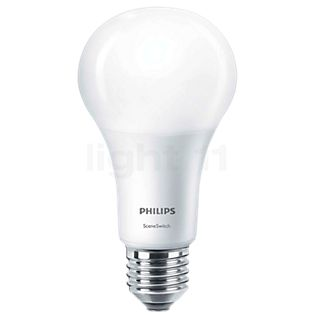 Philips A67 14W/m 827, E27 Scene Switch kleurloos