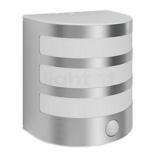 Philips Calgary Applique LED avec détecteur de mouvements acier inoxydable
