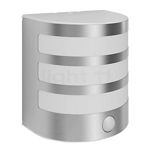 Philips Calgary Wall Light LED with motion detector stainless steel