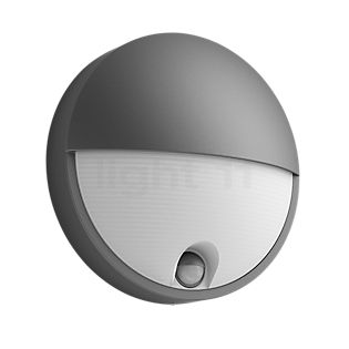Philips Capricorn Wall Light LED with motion detector anthracite