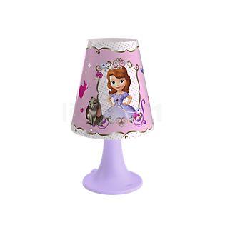 Philips Disney Tafellamp Sofia LED paars , uitloopartikelen