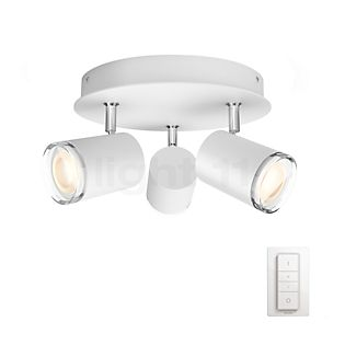 Philips Hue Adore Spot rond 3 foyers blanc