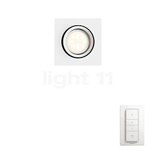 Philips Hue Milliskin Lampe encastrée tamisable LED blanc
